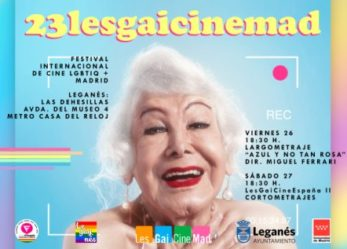 Leganés, sede oficial del 23 Festival Internacional de Cine 'LesGaiCinemad' con proyecciones este viernes y sábado