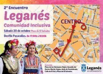 II edición del encuentro 'Leganés, comunidad inclusiva'