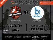 El equipo de baloncesto en silla de ruedas Legabasket BSR juega su primer partido en casa contra el Salto Bera Bera el próximo 25 de noviembre