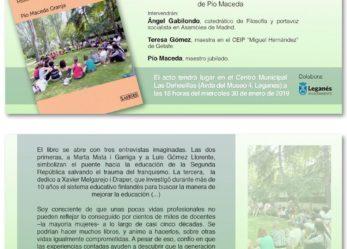 """Presentación del libro """"Maestras y maestros de la democracia"""" de Pío Maceda"""