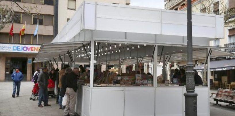 Leganés abre sus puertas a la XXVIII Feria del Libro Antiguo, Viejo y de Ocasión, que estará instalada en la Plaza de España entre los días 1 y 17 de marzo