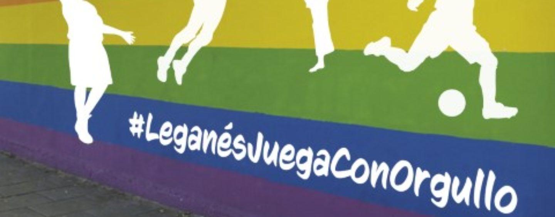 El deporte local volverá a convertirse en referencia de los derechos LGTBI con la campaña 'Leganés juega con orgullo'