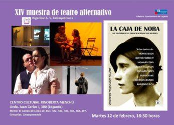 XIV Muestra de Teatro Alternativo de Leganés