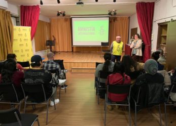Amnistía Internacional de Leganés dió una charla sobre refugiados en el CEPA Rosalía de Castro