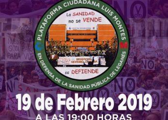 Asamblea abierta en defensa de la Sanidad Pública
