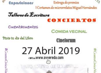Celebración del Día del Libro: sábado 27 de abril 2019
