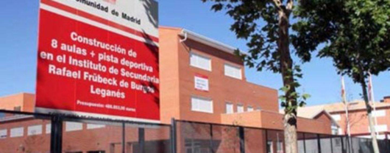 Nota de prensa sobre el IES R.F. de Burgos