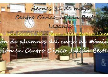 Exposición de alumnos del curso de Cómic, Manga e Ilustración en Centro Cívico Julián Besteiro