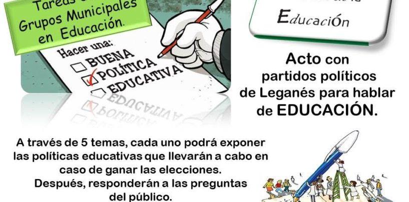 Grupos municipales y educación