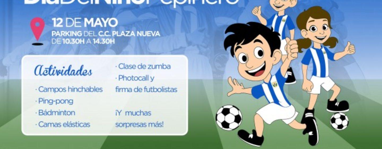 El C.D. Leganés celebrará el 'Día del Niño pepinero' el próximo domingo 12 de mayo