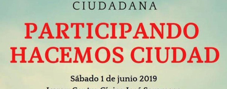 """Jornada de Participación Ciudadana """"Participando hacemos ciudad"""""""