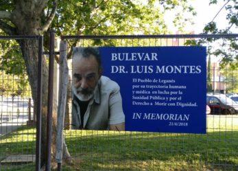 Vandalizan de nuevo la placa del Bulevar Dr. Luis Montes