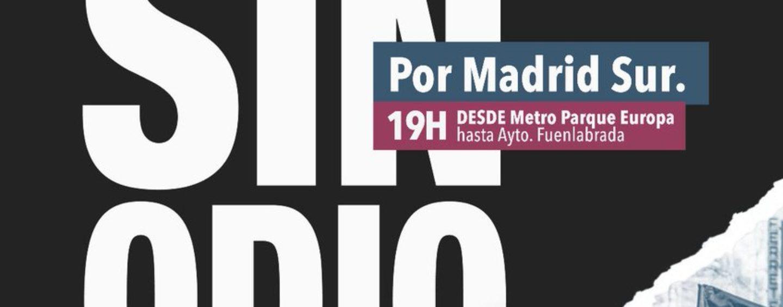 Manifestación: Barrios sin odio. Por Madrid Sur.