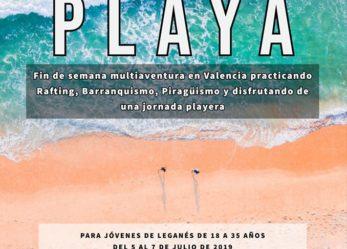 Multiaventura y playa con Dejóvenes