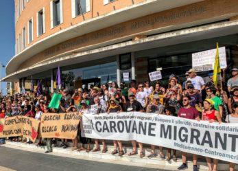 Comunicado Cierre Caravana Abriendo Fronteras 21 de Julio ¡Hermanas, nosotras sí os creemos!
