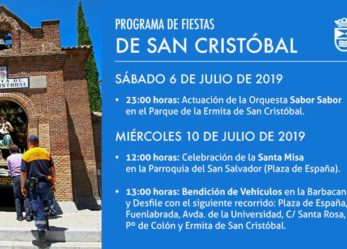 Programa de fiestas San Cristóbal