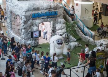 """¡Vive la experiencia de la película """"Abominable"""" en Parquesur!"""