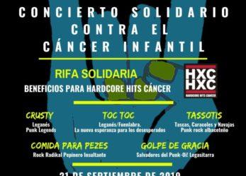 «SAN NICASIO ROCK&BARRIO VOL.1» CONCIERTO SOLIDARIO CONTRA EL CÁNCER INFANTIL