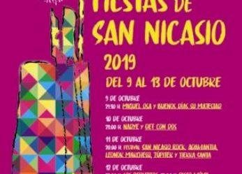 San Nicasio Rock, Def Con Dos o Los Rebujitos estarán en unas Fiestas de San Nicasio más sostenibles y que introducirán actividades durante el día