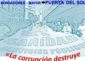 """La Marea Blanca de septiembre denunciará la """"corrupción que destruye nuestra sanidad pública"""""""