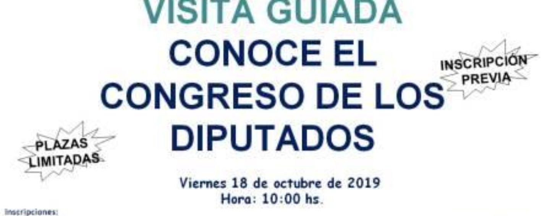 Actividad cultural CEPI: Conoce el Congreso de los Diputados
