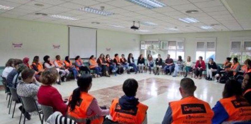 Auxiliares de Acompañamiento de los ayuntamientos de Leganés y Móstoles ponen en común el trabajo de este importante programa que persigue evitar situaciones de soledad
