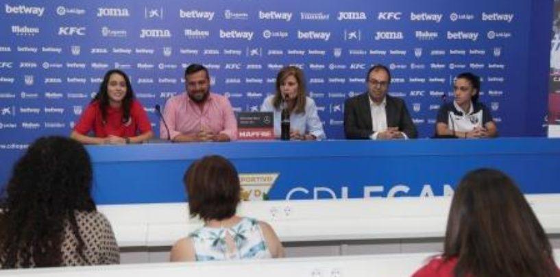 Butarque acogerá el I Trofeo Villa de Leganés de Fútbol Femenino, que medirá al CD Leganés y al Rayo Vallecano