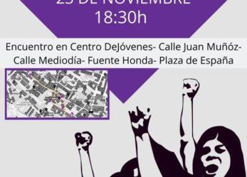 Pasacalles Combativo: Día Internacional Contra La Violencia Machista