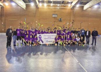 Leganés abanderó la lucha contra la violencia de género en el mundo del deporte con una gran campaña durante el fin de semana