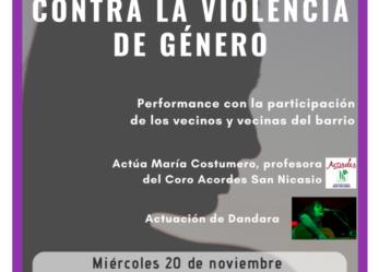 VECINAS Y VECINOS DE SAN NICASIO CONTRA LA VIOLENCIA DE GÉNERO