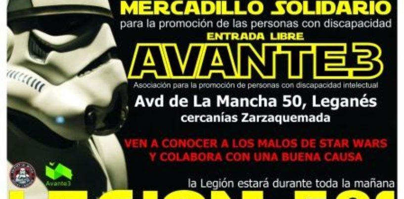 Mercadillo solidario AVANTE 3 y Legión 501 de Star Wars