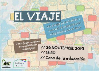 El viaje, un juego para hablar y pensar la experiencia migratoria en el aula