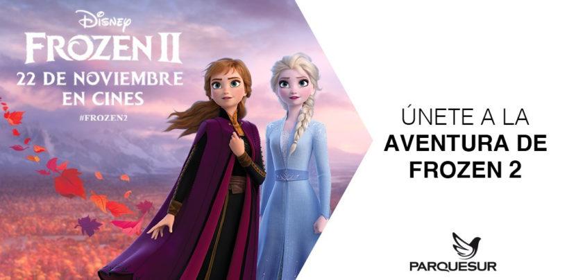 Parquesur celebra el estreno de Frozen 2 con una experiencia inmersiva única