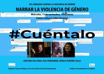 XIII JORNADAS CONTRA LA VIOLENCIA DE GÉNERO: NARRAR LA VIOLENCIA DE GÉNERO