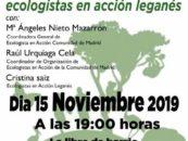 Acto de presentación de Ecologistas en Acción Leganés