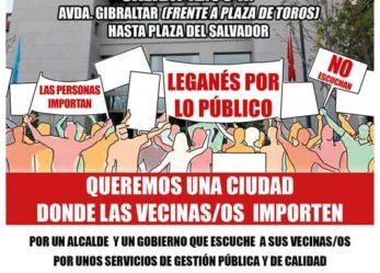 Manifestación 15 de diciembre: queremos una ciudad donde las vecinas/os importen