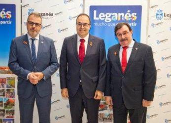 Leganés reconoce el trabajo y dedicación de los profesionales del Hospital Severo Ochoa y los Juzgados de Leganés en el Acto de la Constitución