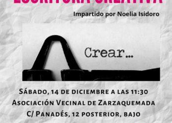 Taller intensivo de escritura creativa impartido por Noelia Isidoro
