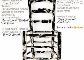 Programación Auditorio Carlos III (enero a abril 2020)
