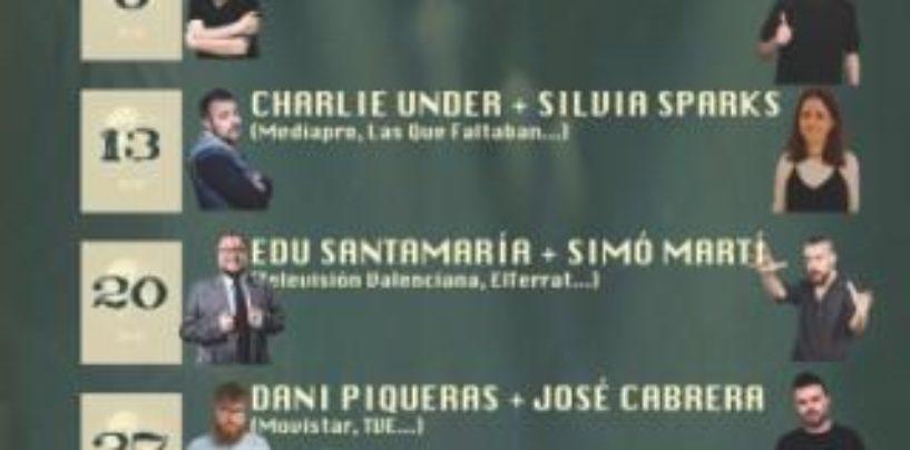 Los mejores cómicos y guionistas de televisión visitan Leganés en el Festival de Comedia en Negro