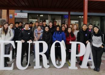 Estudiantes del IES Luis Vives participan en Euroscola en el Parlamento Europeo