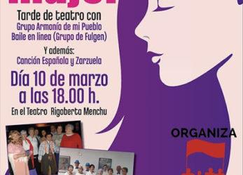 Tarde de teatro de la Asociación Vecinal Barrio Centro por el Día Internacional de la Mujer