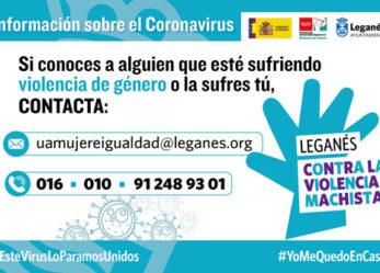 Coronavirus. El 016 y los recursos municipales contra la violencia de género continúan operativos