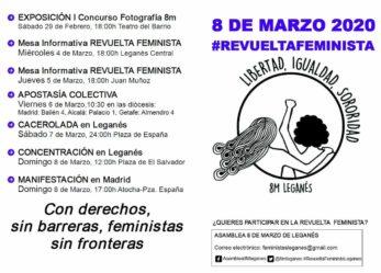 8 de marzo de 2020: Revuelta Feminista