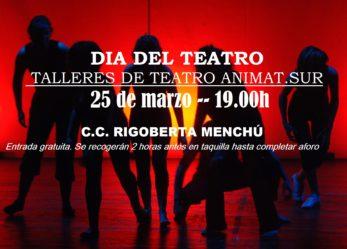 Día del Teatro: 25 de marzo