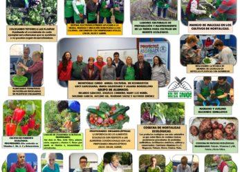 VI edición Exposición Anual de Cursos Culturales, Ecohuertos y Jardines Urbanos