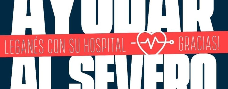 Ayudar al Severo: Leganés con su hospital ¡Gracias!