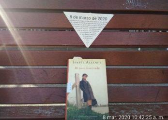 8M en Leganés Norte: siembra de libros escritos por mujeres