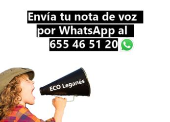 Envía tu nota de voz a la Emisora Comunitaria de Leganés
