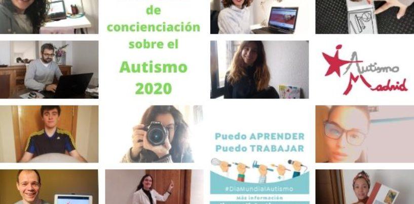 Autismo Madrid se suma a la Campaña por el Día Mundial de Concienciación sobre el Autismo 2020